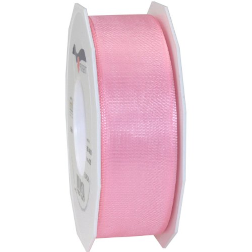 Morex Ribbon Europa Taffeta Ribbon, 1-1/2-Inch by 55-Yard Spool, Light Pink