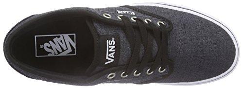 Distress Black White Sneakers Atwood Vans Herren Schwarz vp8fxIn