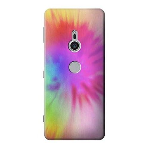 Tie Dye Color Etui Coque Housse pour Sony Xperia XZ2