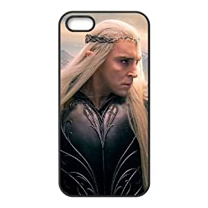 Protective TPU cover case thranduil the hobbit other iPhone 5 5s Cell Phone Case Black
