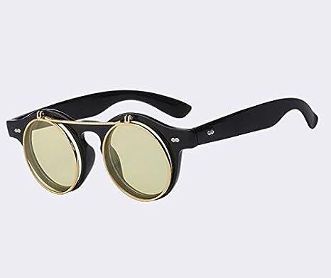 YOJUED Vintage Rechteck Sonnenbrille Damen Herrenmode Retro Brille mit quadratischem Rahmen Brillen UV 400 Schutz