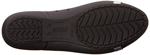 Crocs black Mirror Toe Cap Ballet W Flat Women's Black grqpzg