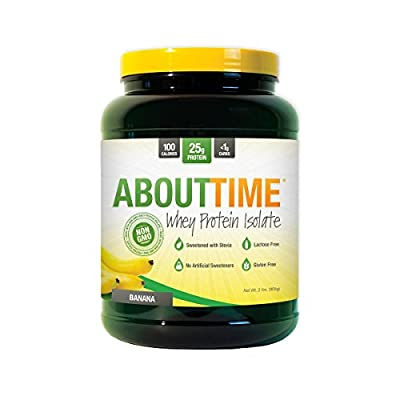 SDC Nutrition About Time Whey Protein Isolate, 2 Pound
