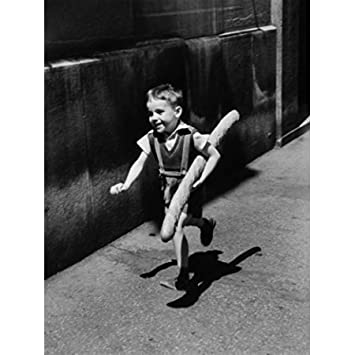 Amazon henri cartier bresson boy with bread photography poster henri cartier bresson boy with bread photography poster print 11x14 unframed print fandeluxe Images