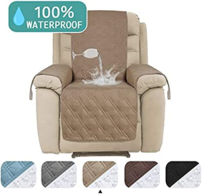 Peachy Turquoize Waterproof Sofa Covers For Large Recliner Chair Cover Quilted Furniture Cover Protector For Living Room Non Slip Sofa Protector For Oversize Creativecarmelina Interior Chair Design Creativecarmelinacom