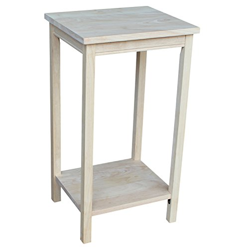 Unfinished Wood End Table (International Concepts OT-42 Accent Table, Unfinished)