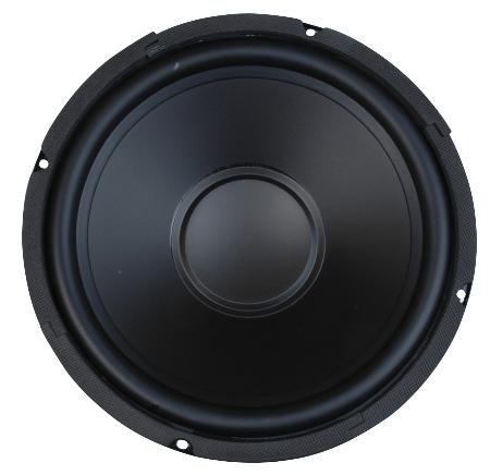 "10"" Woofer with Poly Cone and Rubber Surround 100W RMS at 8ohm"