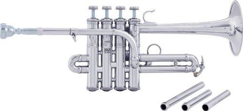 Bach AP190 Stradivarius Artisan Series Bb/A Piccolo Trumpet AP190S Silver (AP190S Silver) by Bach