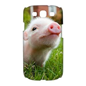 Classic Cute Baby Piglet Pig Back Cover Case Suitable for Samsung Galaxy S3 I9300(4)