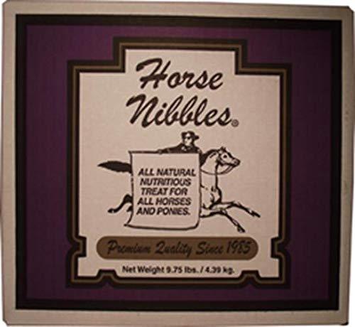 HORSE NIBBLES HORSENIBBLES 9.75LB Molasses Pet Snack Treat, 9.75 lb