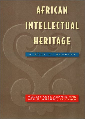 Search : African Intellectual Heritage (African American Studies)