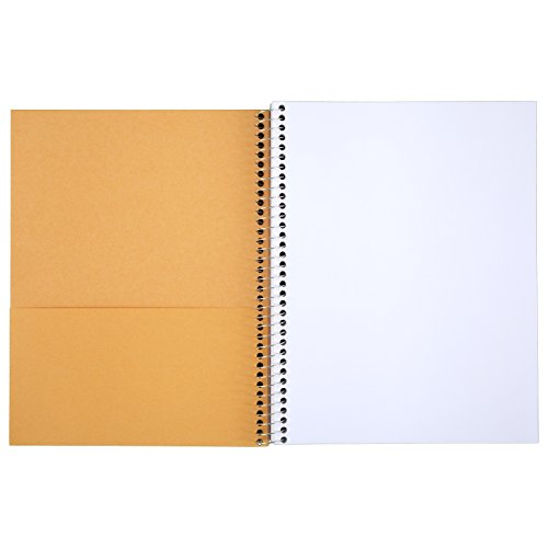 043100544043 - Mead Acadmie Spiral Sketchbook / Sketch Pad, Heavyweight Paper, 70 Sheets, 11 x 8.5 Inch Sheet Size (54404) carousel main 1