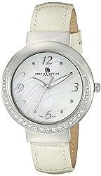 Charles-Hubert, Paris Women's 6906-F Premium Collection Analog Display Japanese Quartz Beige Watch