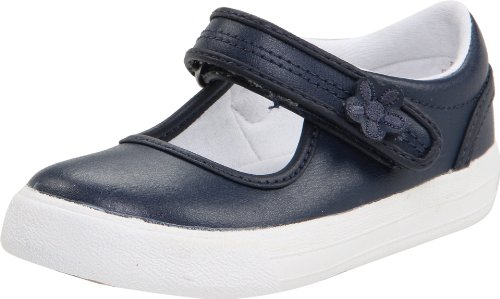 Keds unisex-child Ella Mary Jane Sneaker ,Navy,12 M US Little Kid