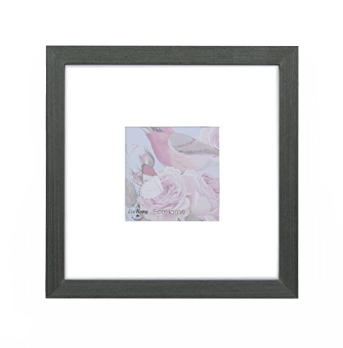 Amazon.com - 8x8 Black Picture Frame Square - Made to Display ...