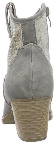 RiekerY1965 - botas Mujer Gris - Grau (cement/antique / 40)