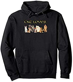 Cat Lovers Pull Over Hoodie