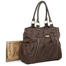 Carter's Out N About Slinky Diaper Bag, Brown