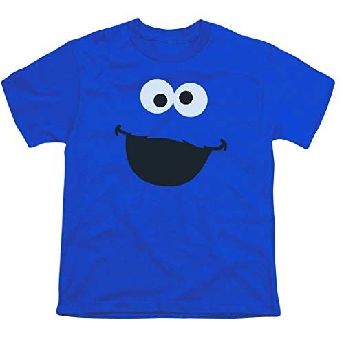 Youth Sesame Street Cookie Monster T Shirt for Boys (X-Large)
