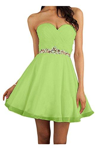 Verde mujer para trapecio Vestido Topkleider fqRF4fI