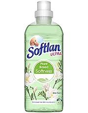 Softlan Sköljmedel White Flowers, Växtbaserat och Parfymerat Sköljmedel, Dermatologiskt Testat, 89% Biologiskt Nedbrytbar Formula med Mild Doft och Vårdande för Din Tvätt – 650 ml