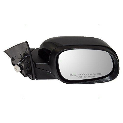 (Passengers Power Side View Mirror Heated w/Cover Replacement for 14-19 Kia Soul 87620B2510 AutoAndArt)