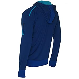 ASICS Men's FZ Hoodie, Large, Air Force Blue