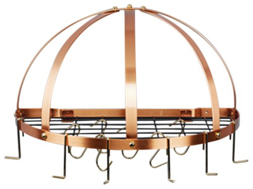 Old Dutch Half-Round Pot Rack with
