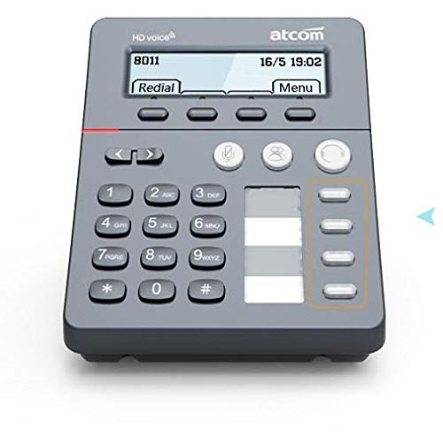 Atcom CT11 Call Center Agent VoIP IP SIP LCD PoE Phone No Power Adapter