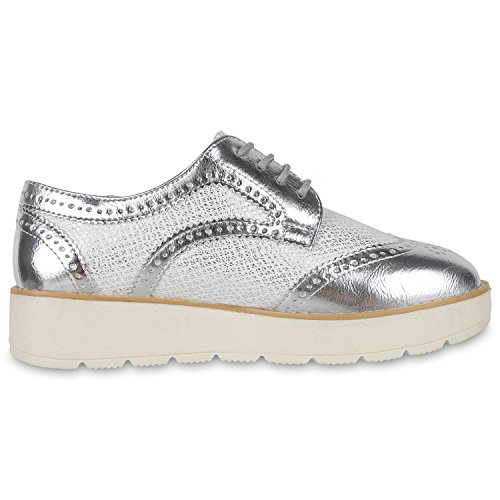napoli-fashion - Plataforma Mujer Silber Silber