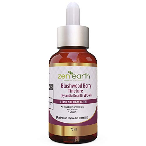 Blushwood Berry Tincture 70 ml - 10:1 Concentrate - 10X The Value Certified by HEALTHY DROPS (Image #1)