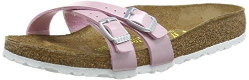 Birkenstock Almere - Zuecos para mujer rosa - Pink (Pearly Rose)