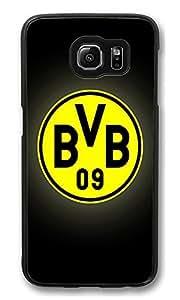 S6 Case, Borussia Dortmund Creativity Ultra Fit Black Bumper Shockproof Case For Galaxy S6 Customizable Hard PC Samsung Galaxy S6