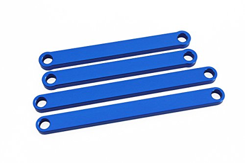 Blue Aluminum Camber Arms for Traxxas Rustler and Stampede 2WD (Traxxas Aluminum Caster Blocks)