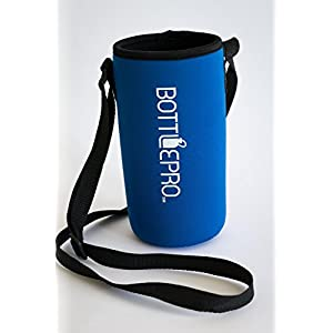 Bottle Carrying Pouch, Large Size, for 40 Ounce Hydro Flasks and 36 Ounce Yeti Ramblers