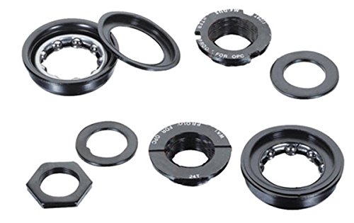Black Ops BMX Bottom Bracket Set, (Black Ops One Piece)