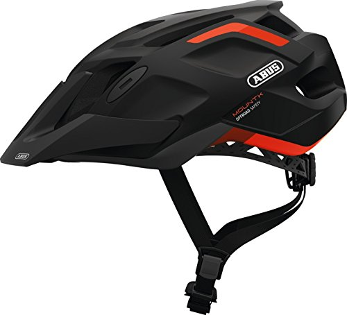 Abus MTB Sport Fahrradhelm MountK Shrimp-Orange Gr  53-58 cm
