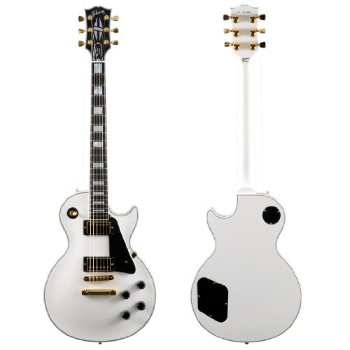 Les Paul Guitar Gibson Custom (Gibson Custom Les Paul Custom Electric Guitar Alpine White)