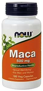 Now Maca 500mg 100 Capsules