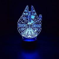 Luminária 3D - Nave Espacial do Star Wars