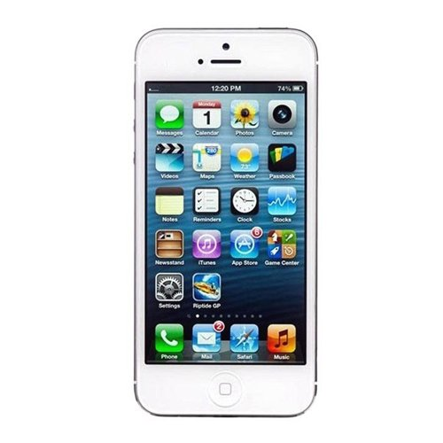 Apple iPhone 5, GSM Unlocked, 32GB - White (Renewed)]()