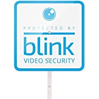 Blink Yard Sign with Two Window Decals Bundle