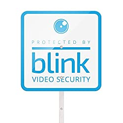 Image of the product Blink Yard Sign with Two that is listed on the catalogue brand of Blink Home Security.