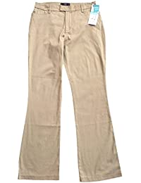 Riders Heavenly Touch Casual Pants Mid Rise Boot Cut