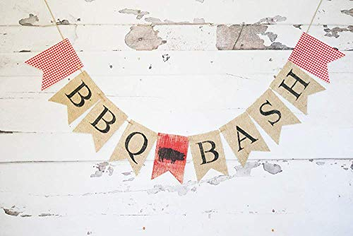 BBQ Bash Banner for Summer Cookout or Barbecue Party Decoration ()