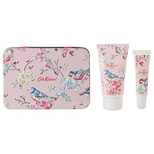 Cath Kidston Blossom Birds Hand and Lip Set Tin - Pink