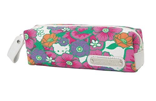 Sanrio Hello Kitty Flower - Sanrio Hello Kitty pen pouch red flower