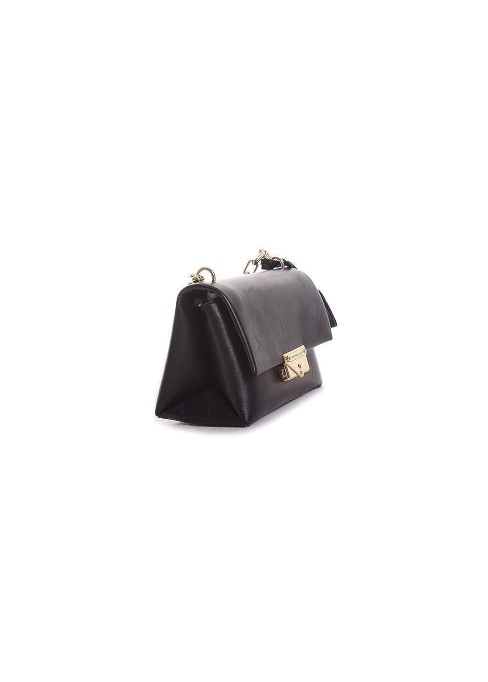 541bcd96b746 Amazon.com  Michael Kors CeCe Extra-Small Chain Crossbody Handbag in Black   Clothing