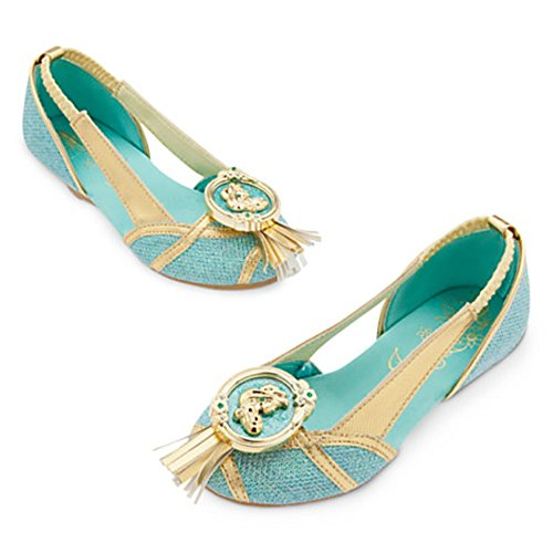 [Disney Store Princess Jasmine Costume Shoes ~ Aladdin (13/1)] (Jasmine And Aladdin Costumes)