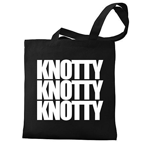Eddany Knotty Eddany Knotty Canvas three words Bag Tote dwEnq5R